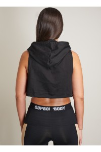 WOMEN HOODIES BLACK