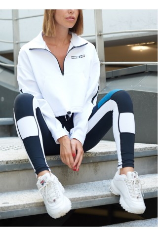 SWEAT RETRO ZIP